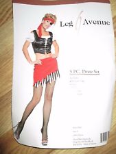 Womens PIRATE Halloween Costume S Sm Leg AVenue sexy
