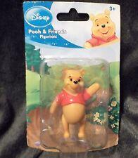 "Disney Figurine Winnie The Pooh Beverly Hills Teddy Bear Company 2 1/4"" high"