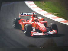 Photo Marlboro Ferrari F2002 2002 #1 Michael Schumacher (GER) Spa #1