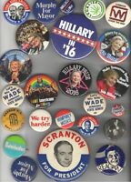 Old POLITICAL pin ADVERTISING etc. 23 pinback button