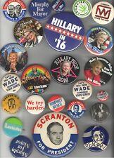 Old Political pin Advertising etc. 23 pinback button