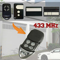 4 BUTTON REPLACEMENT GARAGE GATE REMOTE CONTROL KEY FOB 433MHZ FOR LIFTMASTER