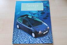 89305) Renault Twingo Prospekt 08/1996