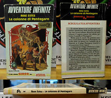 Avventure Infinite 3 le Colonne di Pentegarn Librogame D&D Dungeons & Dragons
