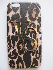 NWT Victoria's Secret iPhone 6 Hard Case VS Gold Leopard Print 2015
