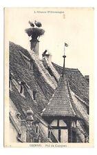 l'alsace pittoresque  obernai  nid de cigogne (a0216)