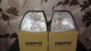 BMW 3 Series E36 Sedan Compact 1992-1999 Corner Lamp Turn Signal Set Right+Left