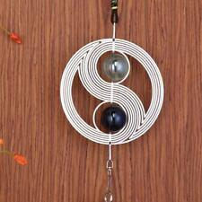 Spiral Wind Chimes Hanging Spinner Windchime Home Garden Decoration Yard Q4E9