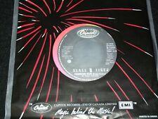 "GLASS TIGER<>DIAMOND SUN<>7"" Vinyl ~Canada Pressing~CAPITOL B-73059"