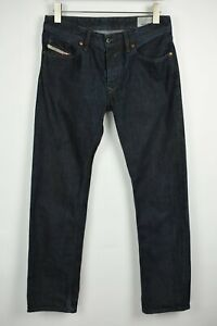 Diesel Waykee Regular Straight 0088Z Homme W30 L32 Foncé Jeans Bleu 21675-JS