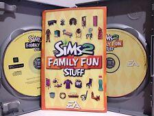 THE SIMS 2 ~ FAMILY FUN STUFF ~ PC CD-ROM GAME