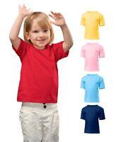 Hanes Plain Cotton Toddler Tee Tshirt T-Shirt No Logo
