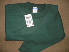 Small Right Hand Trap/Skeet Pad Forest Green Heavy Blend Shooting Sweatshirt