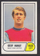 Red Back Stoke # 89 Geoff Hurst 1974 Footballers A/&BC