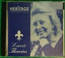 Lucie Therrien Heritage Francophone CD 1995 (a23)