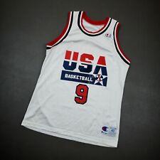 100% Authentic Michael Jordan Vintage Champion 1992 USA Jersey Size 40 M Mens