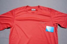 Columbia Omni-Wick Lightweight Tee Shirt, Base Layer. Salmon, Men's M. Nwt $30!