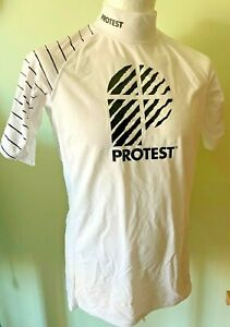 Protest Men's S/S Rash Guard SPF/UPF50+ sizes L & XL New with tags was £20😎