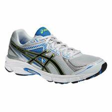 Asics Gel Ikaia 5 Blanco/Negro/Azul Zapatos de Entrenamiento de Malla Reino Unido 11, 12