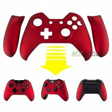 Soft Touch Red Faceplate Front Shell Kit Panel for Microsoft Xbox One Controller