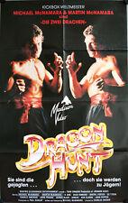 Dragon Hunt Filmposter A1 Dragon Kickboxers Martin McNamara, Michael, B. Bob