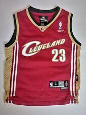 Reebok Cleveland Cavaliers Lebron James Kids Jersey Size L (7)