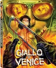 GIALLO IN VENICE Blu-Ray *UNCUT Slasher Gore SLIPCOVER+POSTER RARE OOP *SOLD OUT
