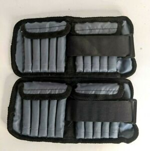 Bodyfit by Sports Authority Ankle/Wrist Weights Set of (2) 2.5 lbs each