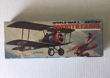 VINTAGE - SOPWITH CAMEL Model Kit- Aurora 1956 World War I British
