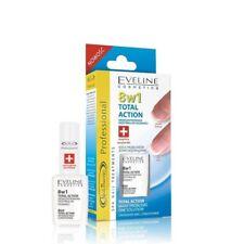 Acondicionador de Uñas 8 en 1 el crecimiento de acción total Eveline Cosmetics tratamiento proteger