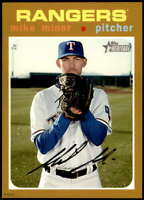 Mike Minor 2020 Topps Heritage 5x7 Gold #284 /10 Rangers