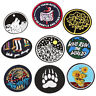 Iron On Sew On Patches Badge Bag Fabric Applique Craft Embroidered Decor DIY JP
