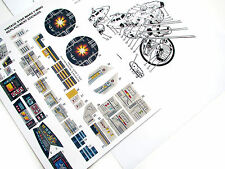 STAR WARS VINTAGE Y-WING STICKERS for 1983 YWING FIGHTER