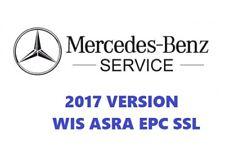 MERCEDES 1986 2017 WIS ASRA & EPC concessionario del Servizio di Riparazione Officina Manuale