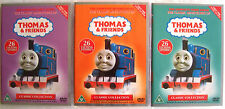 THOMAS & FRIENDS Seasons 1, 2 & 3 VERY FIRST DVD Releases (UK) Rare - As New