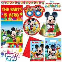 Disney Playful Mickey Party Children's Birthday Tableware Decorations