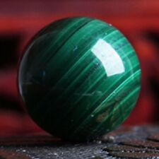 50mm Malachite Green Gemstone Ball Crystal Sphere Healing Reiki Stone Decor Gift