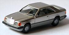 Mercedes Benz Clase E 300 Ce Coupé C124 Facelift 1989-93 Silbermetal 1:87 Herpa
