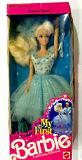 My First Barbie A Glittering Ballerina Mattel 1991 3839 NIB