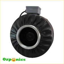 """12"""" INLINE DUCT FAN CENTRIFUGAL EXHAUST BLOWER HYDROPONICS EXTRACTION"""