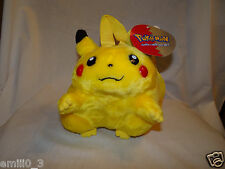 """New With Tags Pokemon Pikachu Plush 8"""" Backpack"""