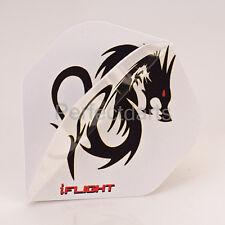 5 x SETS RUTHLESS BLACK DRAGON DART FLIGHTS X Strong Invincible iflight Standard