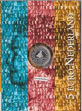NEDERLAND       Koninkrijksmunt   Zilver   5   Euro Proof    PP