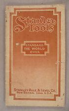 Stanley Tool CATALOG - 1914 ~~ tools