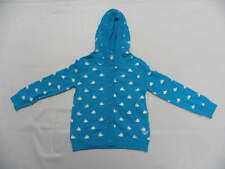 Roxy Kids 5T Sweater Jacket Turquoise Whales Bottoms Dilly Dally Hoodie
