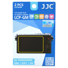 JJC LCP-GM LCD Guard Film Camera Screen Protector for Panasonic GM GX7 GF7