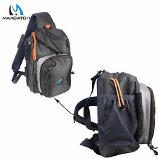 Maxcatch Fly Fishing Sling Bag With Fly Patch Fishing Sling Back Pack Outdoor