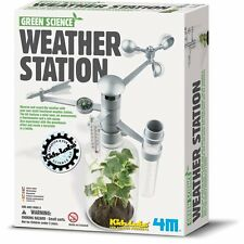Toysmith Green Science Weather Station Kit, Fun for Kids and Adults, 4573