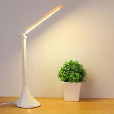 Foldable LED White Manicure Salon Nail Lamps Desk Table Reading Lights Slimline