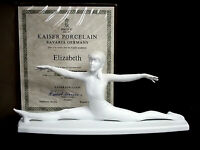 Kaiser Young Gymnast Collection 'ELIZABETH' Limited Ed Bisque Porcelain Figurine